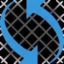 Editor Rotate Sync Icon