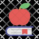 Education Book Apple Icon
