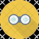 Education Eye Eyeglasses Icon