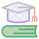 Education Book Cap Icon