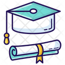 Education Study Diploma Icon