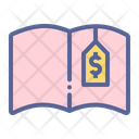 Cost Book Expenses Icon