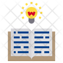 Idea Reading Education Icon