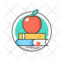 Education Books Apple Icon