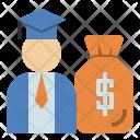 Education Budget Salary Icon
