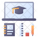 Education Online Learning Icon