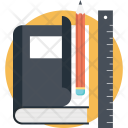 Book School Supplies Icon