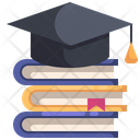 Education Graduation Degree Icon