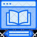 Education Knowledge Web Icon