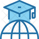 Education Global Degree Icon