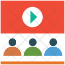 Education Video Lecture Icon