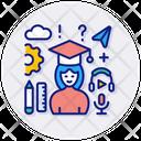 Education Graduation Student Icon