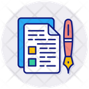 Education Exam Knowledge Icon