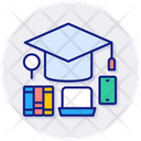 Education Graduation Knowledge Icon