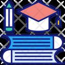 Education Ebooks Graduation Icon