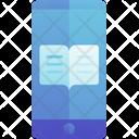 Mobile Book Application Icon