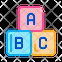 Education blocks Icon