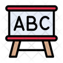 Board Education Abc Icon