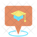 Education Center Location Icon
