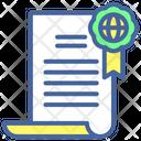 Certificate Education Certificate Reward Icon