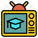 Education Channel Tv Icon