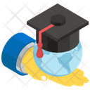 Education For All Global Education Geographical Study Icon