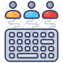Education For All Keyboard Team Icon