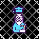 Education For Senior People Senior Education Icon