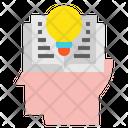 Head Idea Book Icon