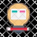 Idea Education Reading Icon
