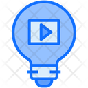 Education Idea Blub Player Icon