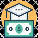 Educational Loan Scholarship Icon