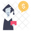 Education Investment Money Icon