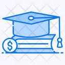 Education Loan Education Grant Education Debt Icon
