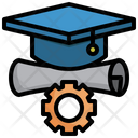 Law Education Law Certification Law Study Icon