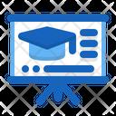 School Presentation Academic Classroom Icon