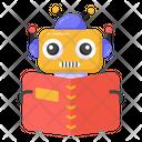 Education Robot Robot Teacher Robot Technology Icon