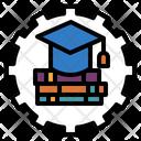 Education System Graduation Icon