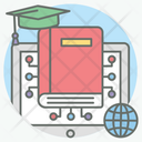 Virtual Education Modern Education Education Technology Icon
