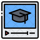 Video Online School Icon
