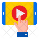 Education Video Video Elearning Icon