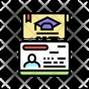 Education Visa Icon