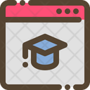 Education Webpage Icon