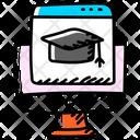 Learning Website Education Website Online Education Icon
