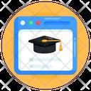 University Website Education Website Academy Website Icon