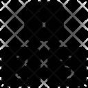 Educational Blocks Digits Icon