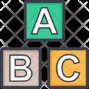 Play Blocks Educational Icon