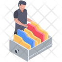 Educational Data Folder Archives Files Icon