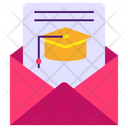 Educational Email Message Correspondence Icon