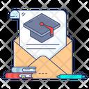 Educational Email Communication Academic Mail Icon